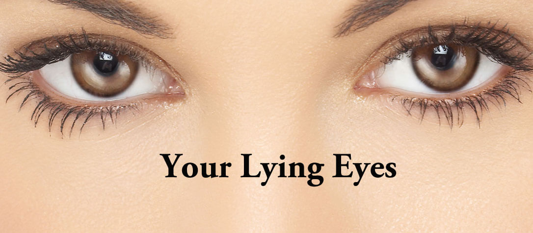 嘘つきの目の特徴・心理-嘘をつく時の目線に表れた仕草のサイン8選