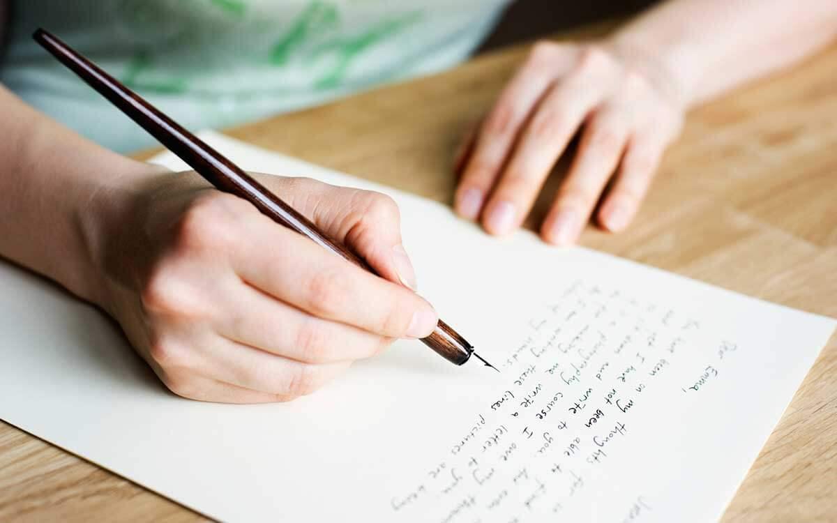 本を貸してくれたお礼の手紙を書く