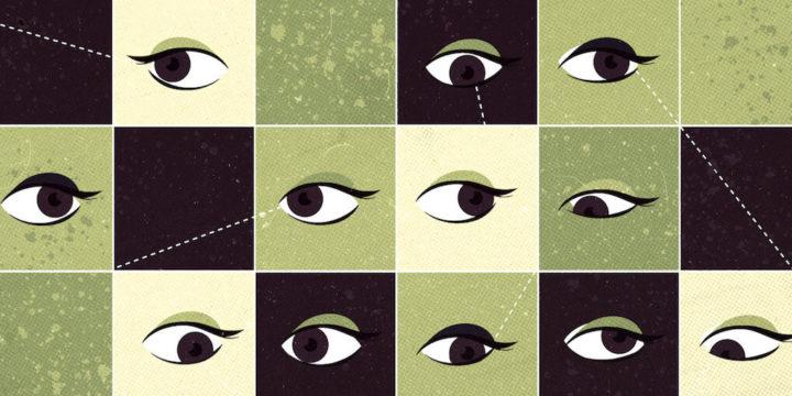 目線の向きの心理